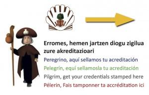 Acreditación sello Camino de Santiago